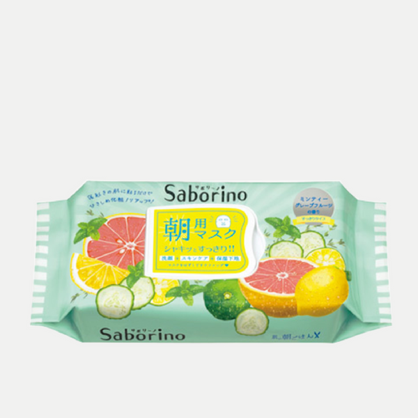 Saborino Morning Masks (Minty Grapefruit)