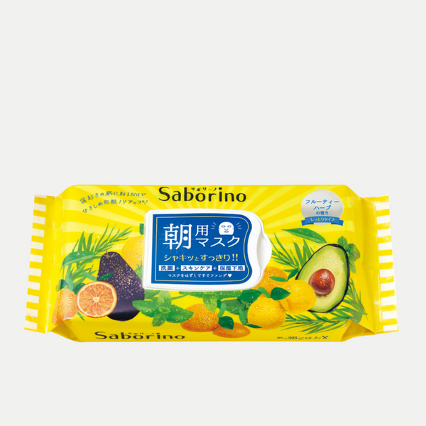 Saborino Morning Masks (Fruity Herb)