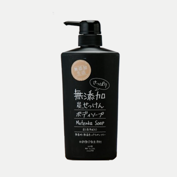 Charcoal Mutenka Body Soap