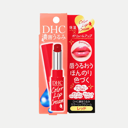 DHC Lip Cream Red