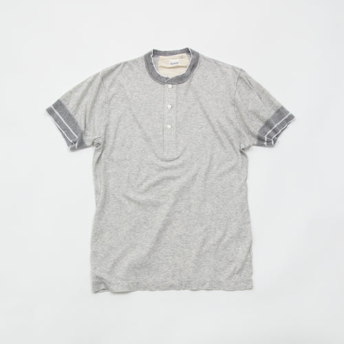 BRUSHED SOFT HENLEY S/S