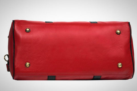 Leather Travel Bag - ZipperNext