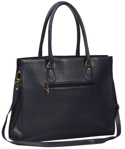 Leather Tote Bag - ZipperNext