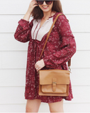 American Styled Crossbody Bag - ZipperNext