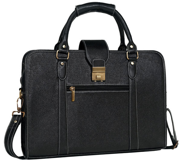 Executive Leather Briefcase - ZipperNext