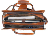 Eternal Leather Briefcase - ZipperNext