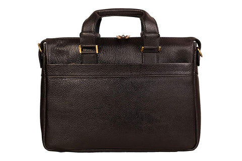 Trendy Leather Bag, Black - ZipperNext