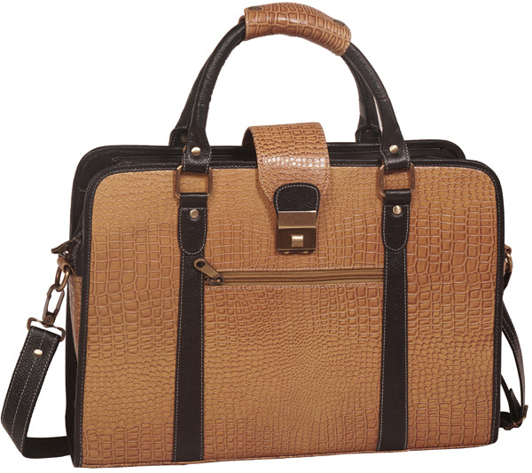 Premium Leather Briefcase - ZipperNext