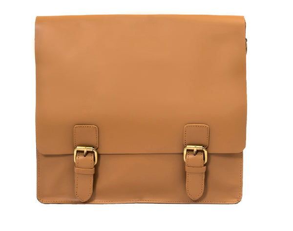 Leather Satchel Bag - ZipperNext