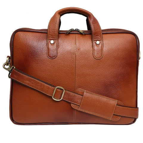 Slim Leather Bag - ZipperNext