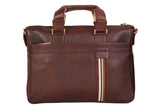 Trendy Leather Bag, Brown - ZipperNext