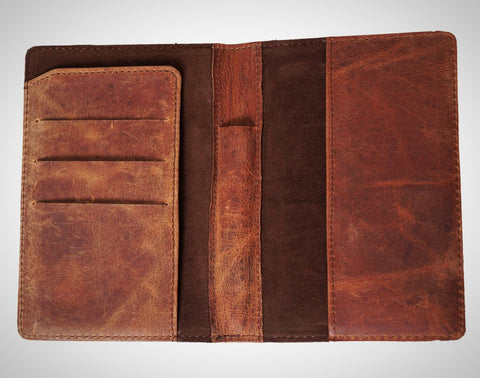 Leather Passport Wallet - ZipperNext