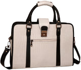 Designer Leather Briefcase - ZipperNext