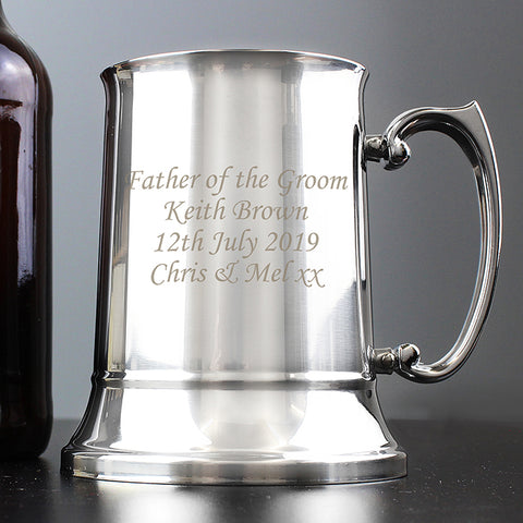 Personalised 'Any Message' Tankard