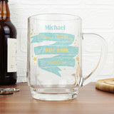 Personalised 'Any Message' Shining Star Tankard