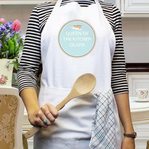 Personalised Baker 'Any Message' Apron