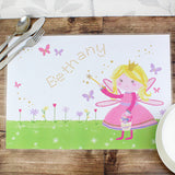 Personalised Garden Fairy Placemat