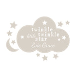 Personalised 'Twinkle Twinkle' Wall Art