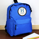 Personalised Star Name Black/Blue/Pink Backpack