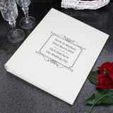 Personalised Silver/Gold Border Album With Sleeves