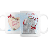 Personalised Me To You Couple Christmas Mug