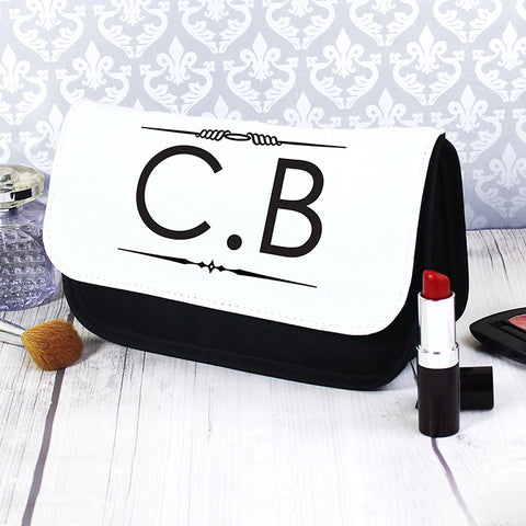 Personalised Initials Make Up Bag