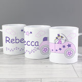 Personalised Princess Car Plastic Mug