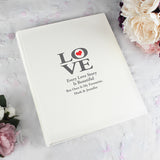 Personalised 'LOVE' Album with Sleeves
