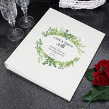 Personalised Botanical Traditional Album