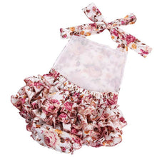 Floral Bubble Romper Set