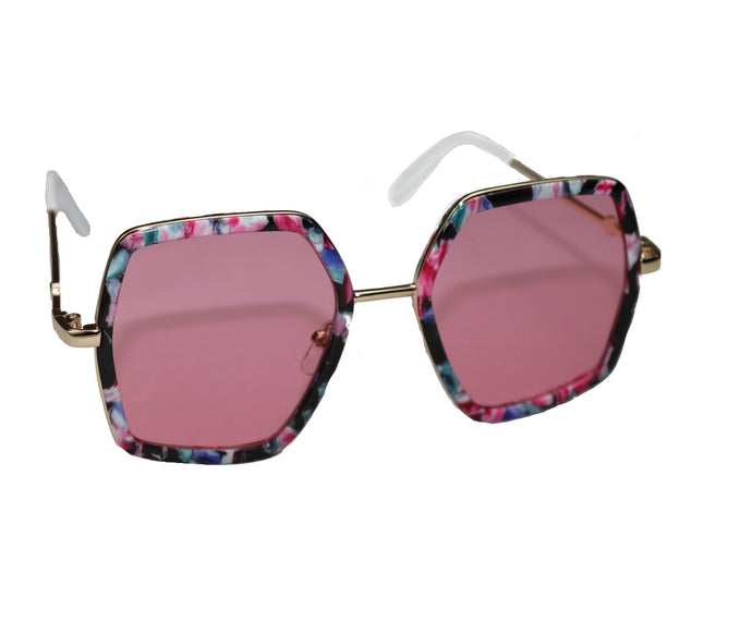 Rose Floral Sunglasses