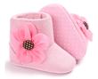 Flower Boots - Pink