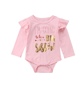 Big Sister Announcement Bodysuit