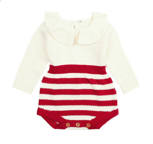0b8246471641 Adorable Baby Clothes Candy Cane Romper