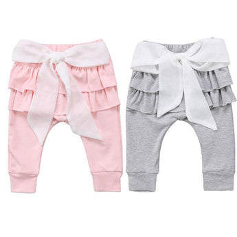 Ruffled Bow Leggings