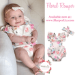 Floral Romper Bundle Set