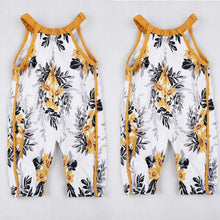 Golden Flower Romper