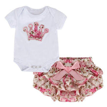 Princess Tee & Ruffle Bottom Bloomers