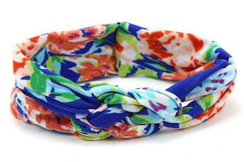 Royal Blue Floral Headband