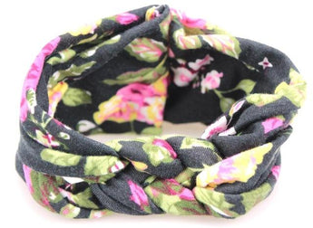 Purple Floral Headband