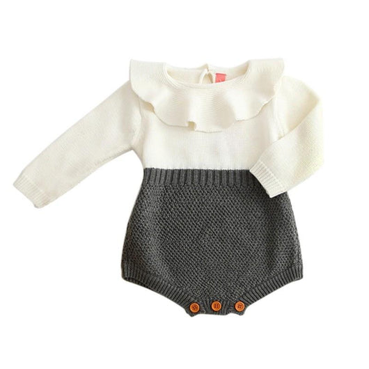 9b48b39ea969 Adorable Baby Clothes Charmed Collar Romper