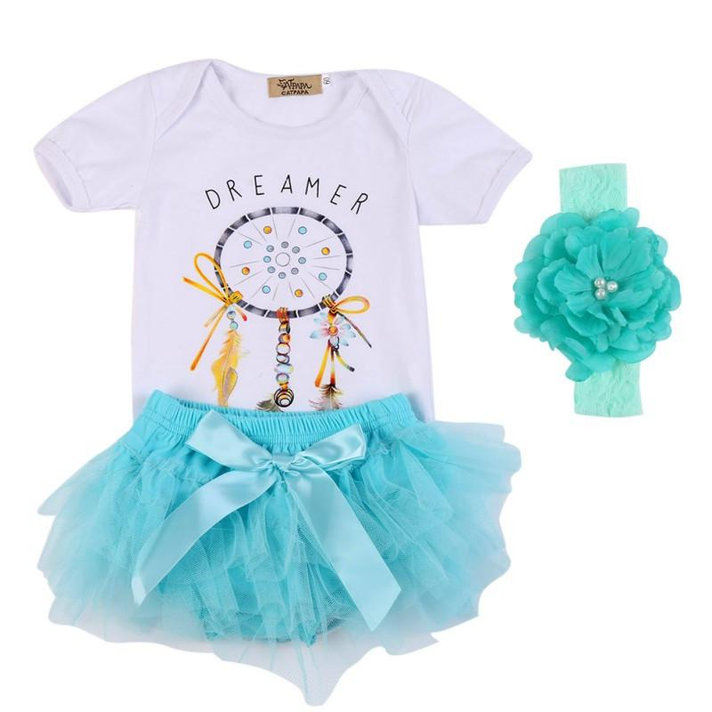 Dreamcatcher Romper, Tutu Bloomers & Headband