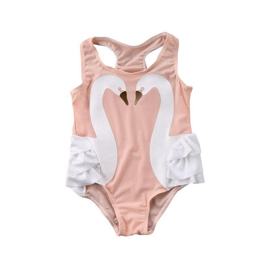 Pink Swan Swimsuit