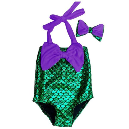 Purple Mermaid Swimsuit