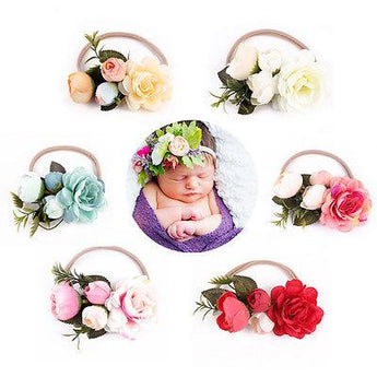 Flower Leaf Headband