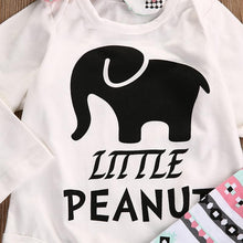 Little Peanut Romper, Leggings & Headband