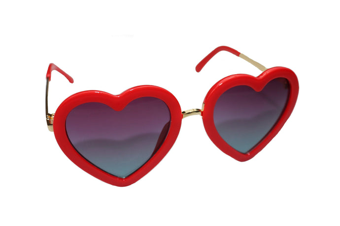 Red Heart Sunglasses