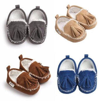 Soft Lined Moccasins