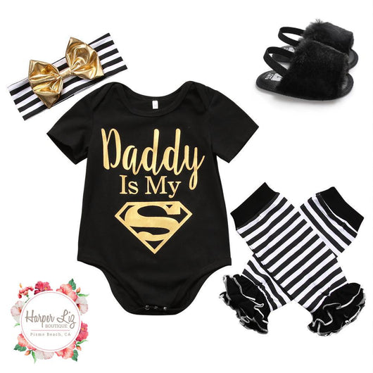Superman Daddy 4 Piece Set