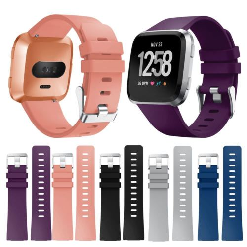 Replacement Silicone Watch Wrist Sports Band Strap For